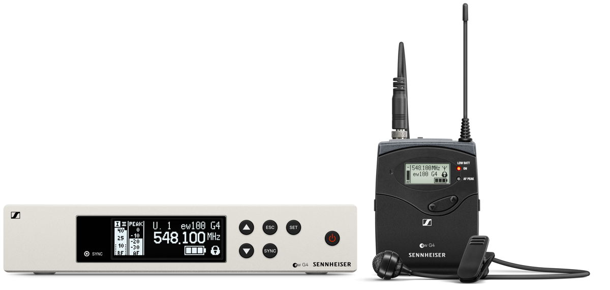 Wireless freedom for the guitar and bass: the ew 100 G4-CI1