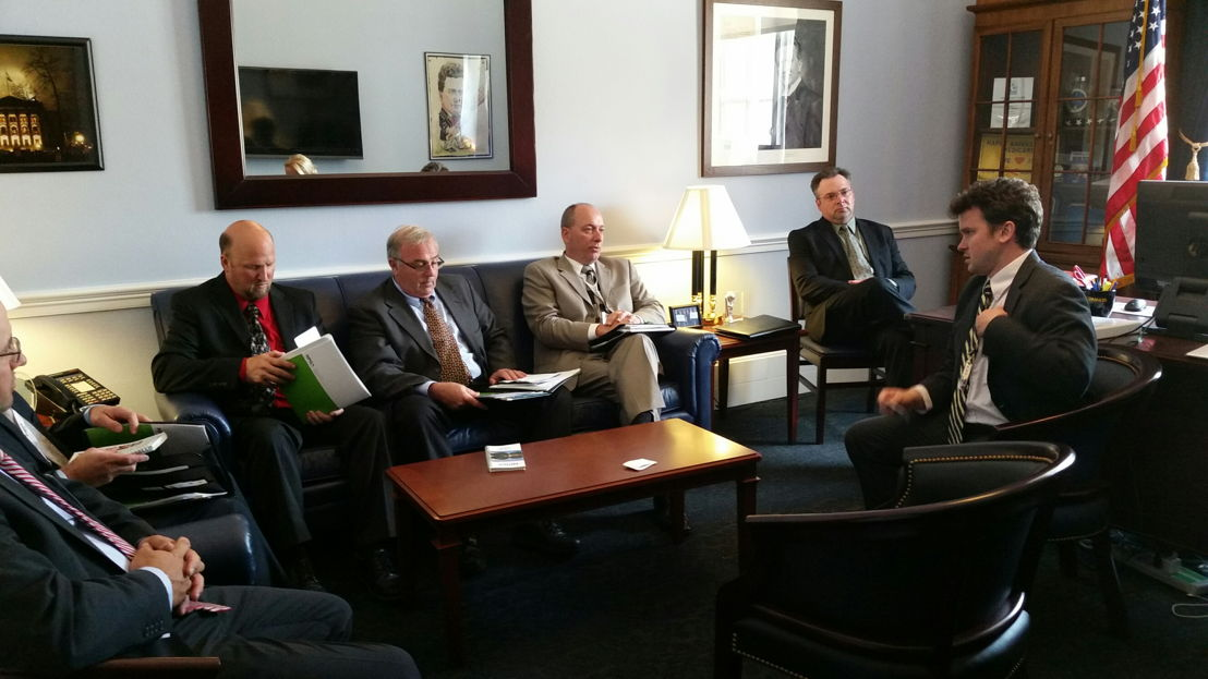 Wisconsin representatives highlight legislative issues with Wisconsin Congressional offices.