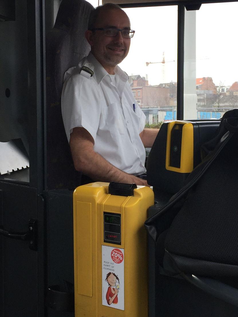Chauffeur Wim (stelplaats Dilbeek)