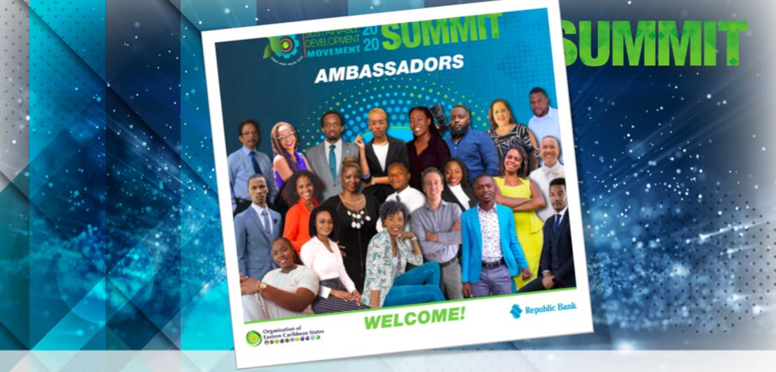 OECS Hosts Award Ceremony to Celebrate Sustainable Development Movement (SDM) Ambassadors