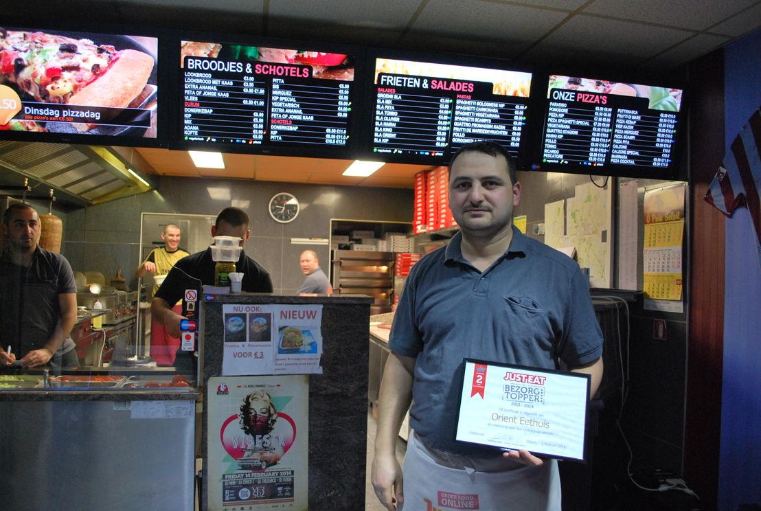 JUST-EAT BezorgTopper: Orient Eethuis in Sint-Truiden