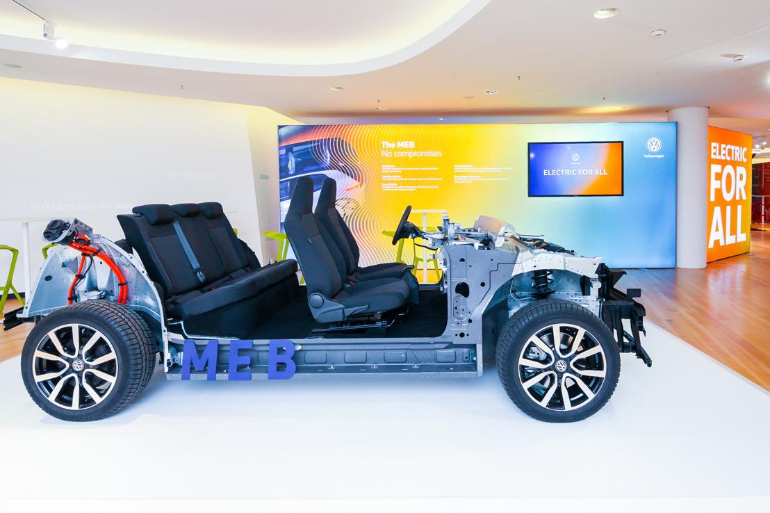 Wereldpremière van het modulaire platform voor elektrische voertuigen - Volkswagen start ELECTRIC FOR ALL-campagne