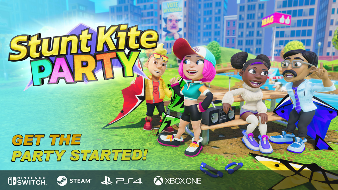 Pretty fly for a Kite Guy: Stunt Kite Party coming to PC, PS4™ and Xbox One today
