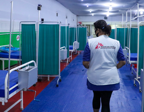 Doctors Without Borders (MSF) opens 100-bed COVID-19 treatment centre in Bihar, India