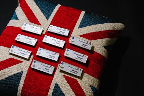 Preview: Le jour du mariage princier, British Airways s'envolera avec un équipage 100 % Harry & Meghan