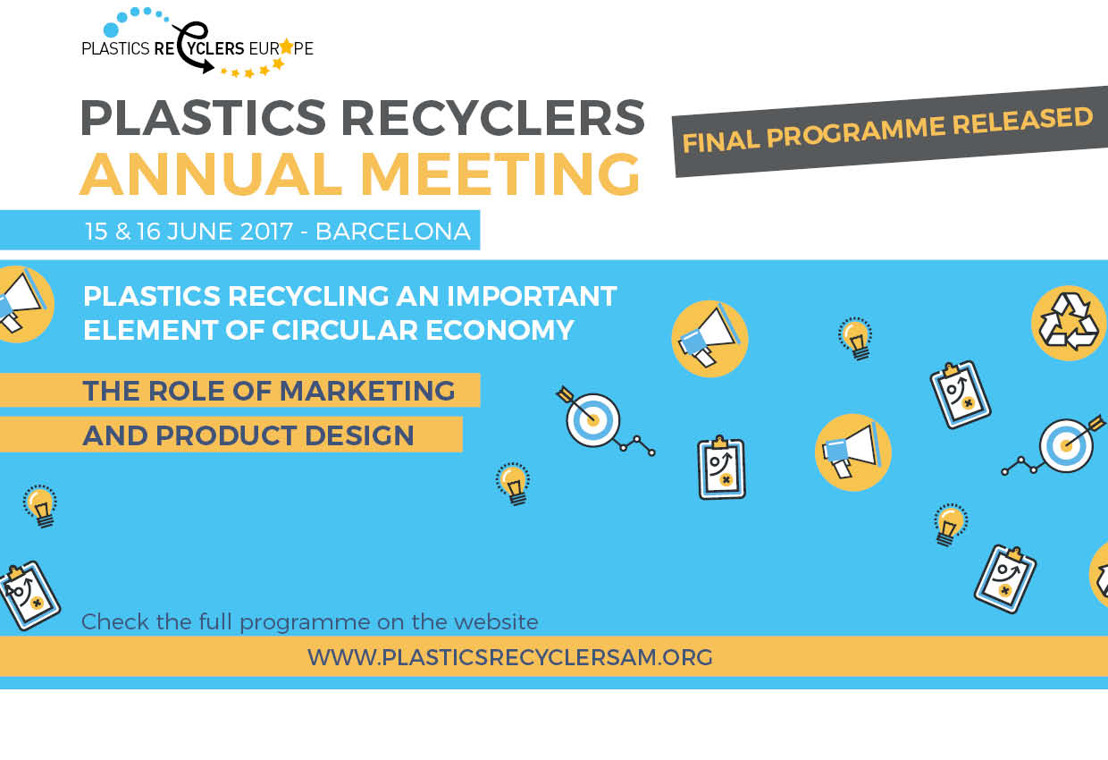 European Commission to speak at the Plastics Recyclers Annual Meeting 2017
