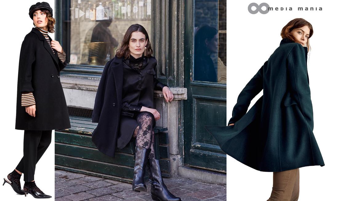 Trend Women FW18 // Masculine overcoats