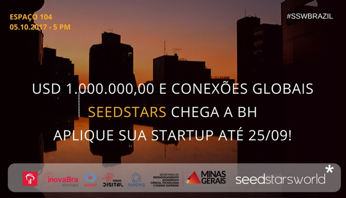 Preview: Seedstars anuncia as 12 startups que irão competir na semifinal do Belo Horizonte, no dia 5/10/2017