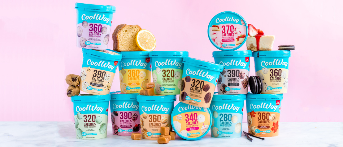 CoolWays Seven New Guilt Free Ice Cream Flavours Include Birthday Cake Maple Swirl Chocolate Chip Cookie Dough