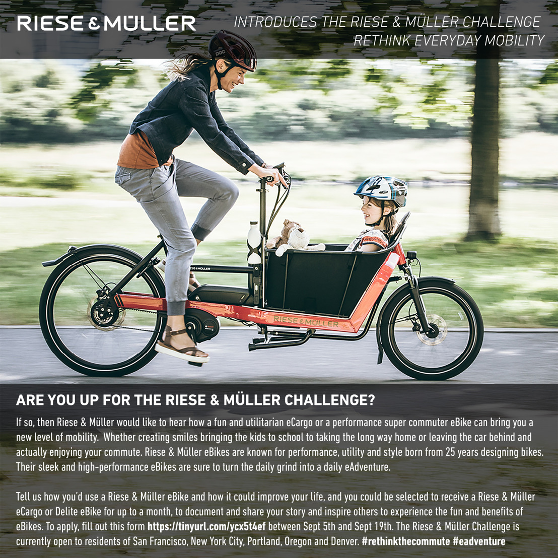 Riese & Müller Introduces the Riese & Müller Challenge