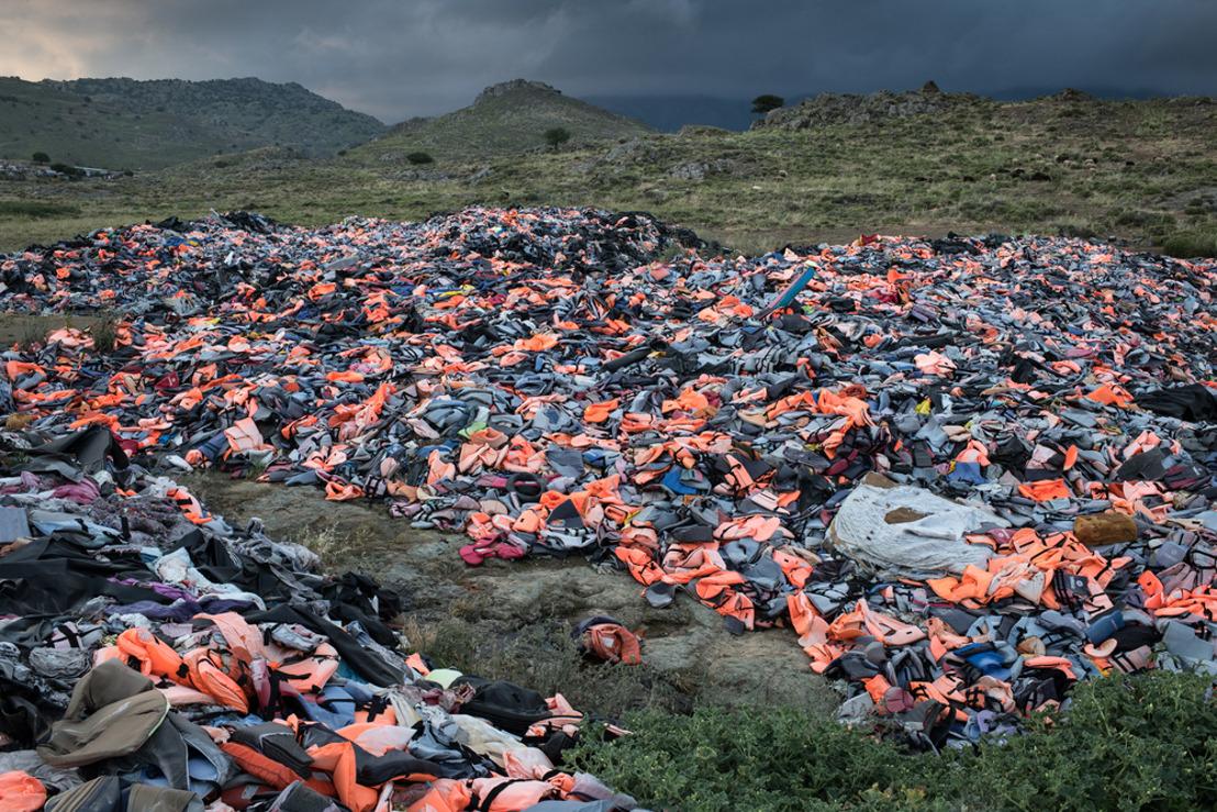 MSF denuncia las condiciones de vida en Moria, el vergonzoso campo de refugiados que está en Europa