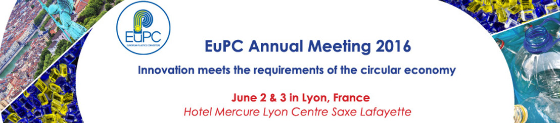 EuPC Annual Meeting: 2-3 June 2016