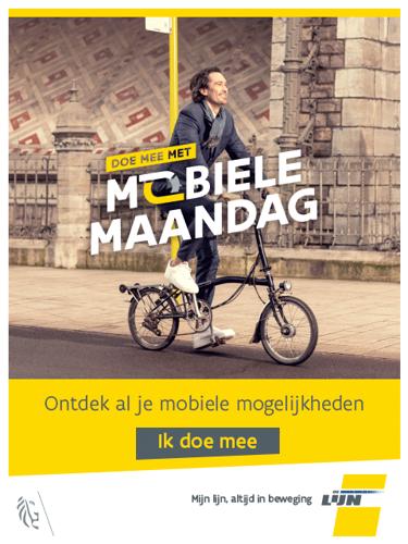 5000 Vlamingen doen mee aan 1e Mobiele Maandag