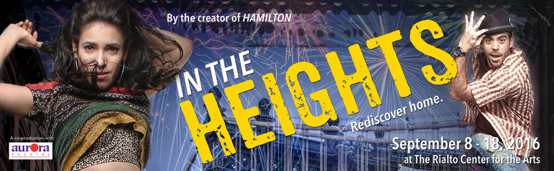 Theatrical Outfit Launches 40th  Anniversary Season with Lin-Manuel Miranda's IN THE HEIGHTS, September 8 – 18