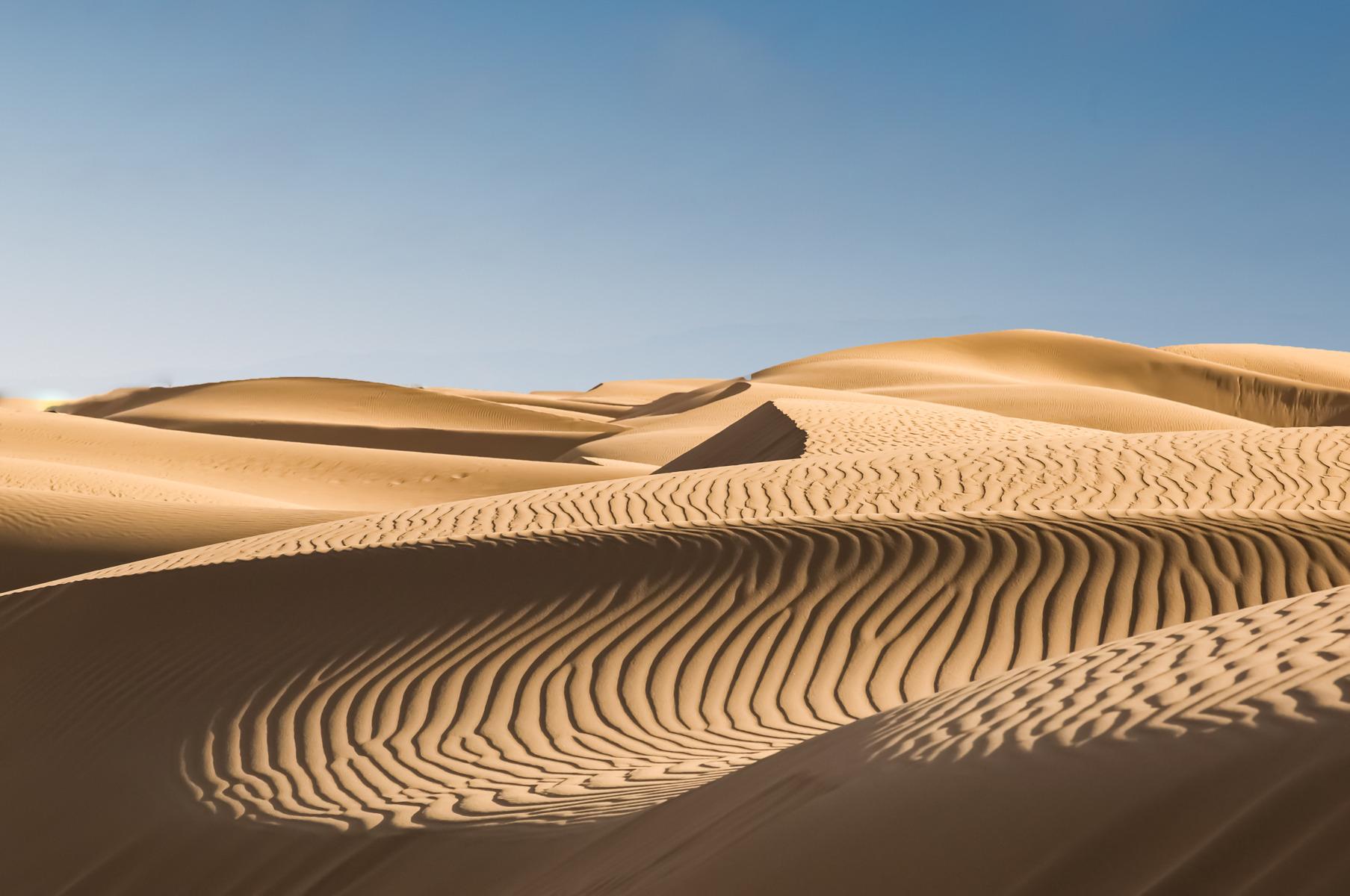 Ørkenens mystiske hummen