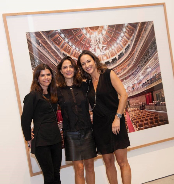 Preview: La Galería OMR y la fotógrafa Candida Höfer, se unen a beneficio de Fundación Origen