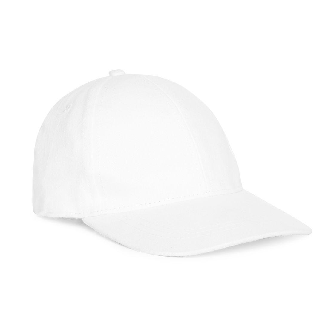 White Baseball Cap - 2€