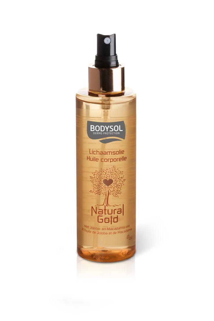 Bodysol - Natural Gold - huile pour le corps - 12,99 €.