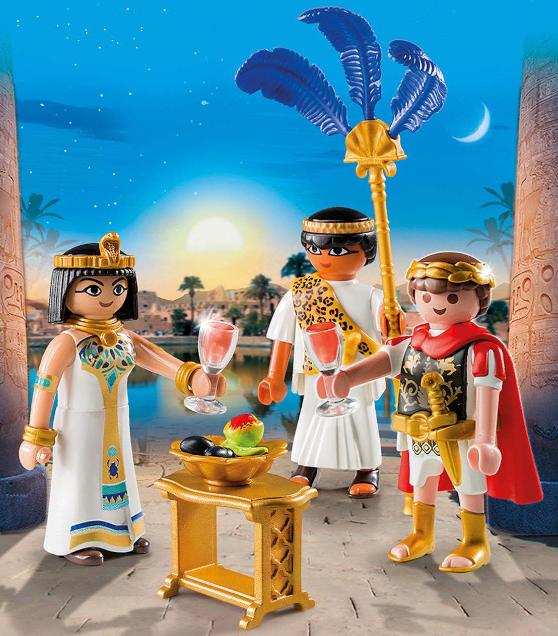 Sta oog in oog met Cleopatra, vecht zij aan zij met Caesar!