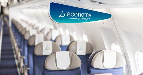 Economy Privilege – Réaction très positive des passagers Brussels Airlines