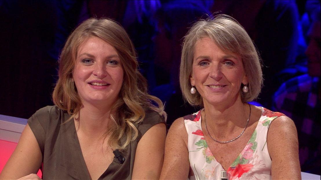 Aflevering 11 (12 jan): Laure en Nathalie<br/>De allesweter (c) VRT