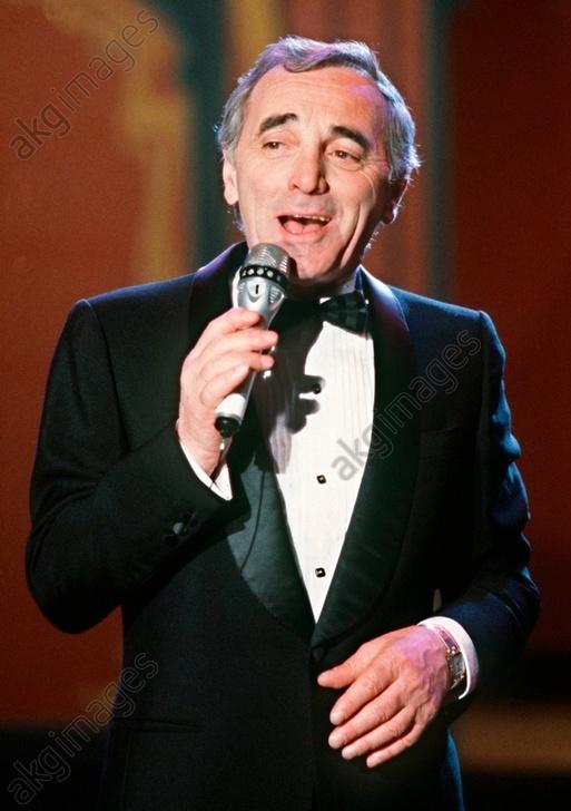 Charles Aznavour (actually Shahnour Varenagh Aznavourian) celebrates his 75th birthday on 22.5.1999<br/>AKG2725659