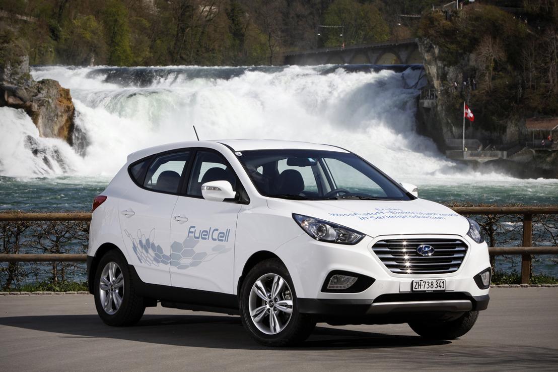 Information de presse - Le futur est déjà là: à mi-septembre, les premières Hyundai fonctionnant à l'hydrogène arriveront en Suisse