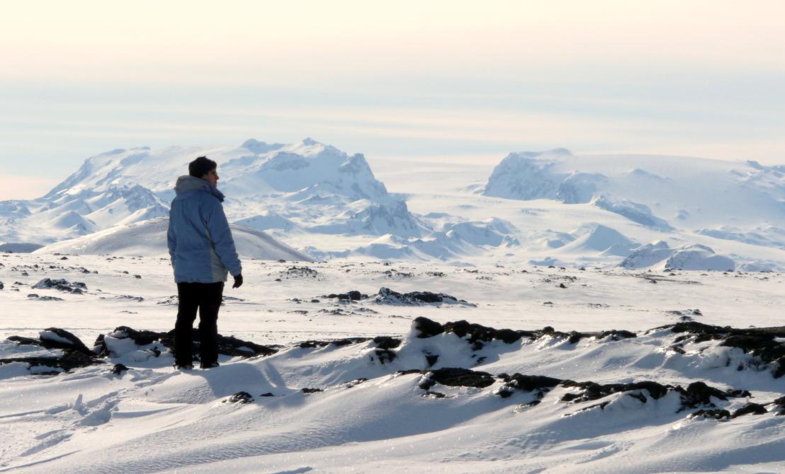 De eerste Vlamingen naar de IJslandse eruptie