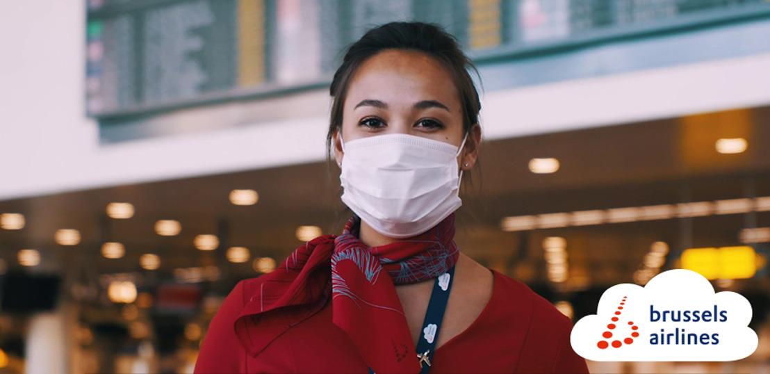 Brussels Airlines limite les exceptions pour le port obligatoire du masque