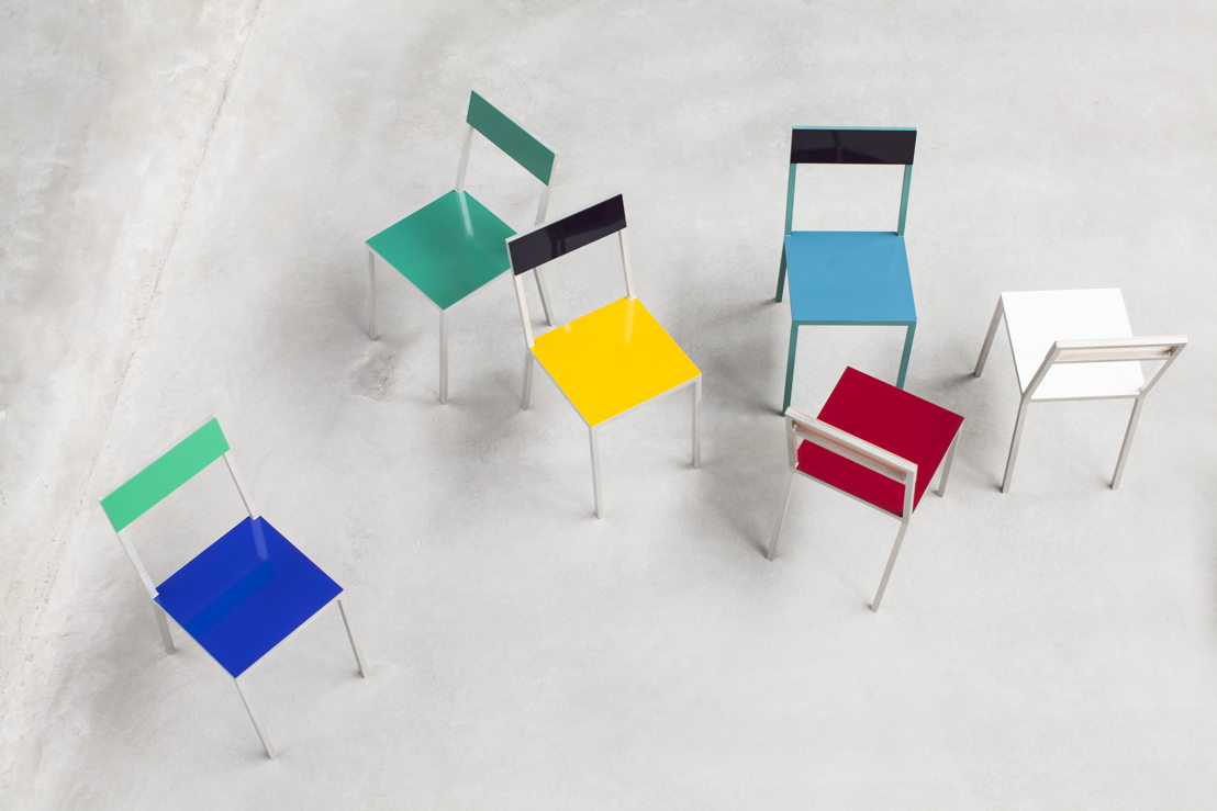 alu chairs <br/>© Siska Vandecasteele