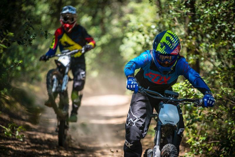 Bultaco Brinco - Motobike Cyclocross Race