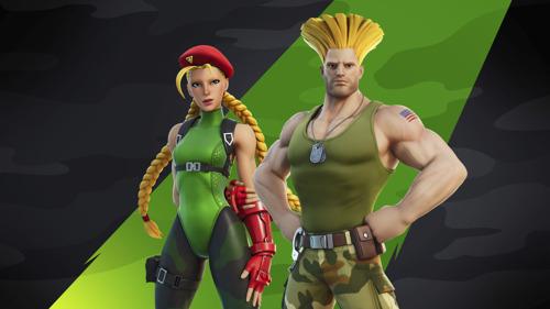 Preview: Cammy y Guile de Street Fighter se unen a Fortnite