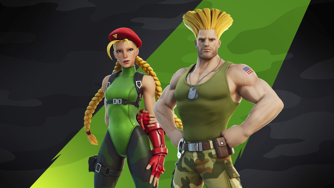 Cammy y Guile de Street Fighter se unen a Fortnite