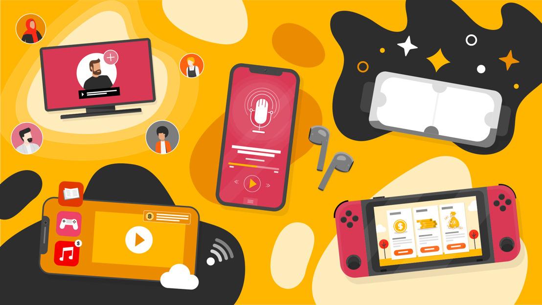 Belgische entertainment- en mediasector krimpt met 7,8%, terwijl verschuiving naar streaming, gaming en user-generated content sector transformeert