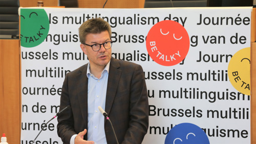 Minister Sven Gatz launches first Brussels Multilingualism Day