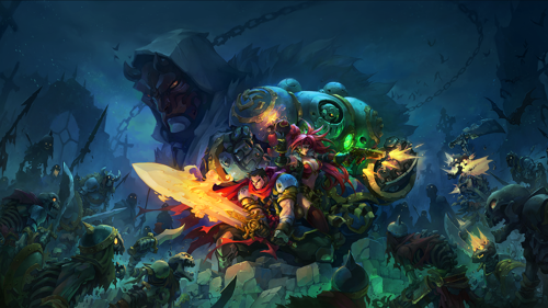Battle Chasers. Mobile. Now.
