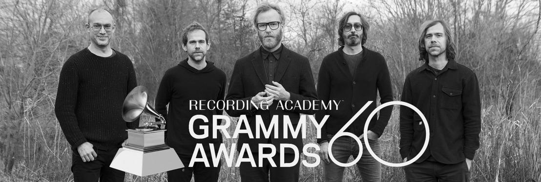 Megkapta élete első Grammy-díját a The National!