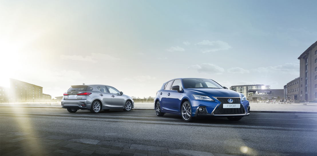 Lexus CT200h Luxury and F SPORT
