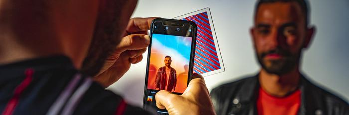 Campari en FamousGrey kleuren instagram rood met Campari filter