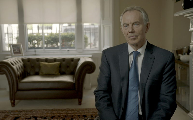 Tony Blair (c) Sandpaper Films 2017