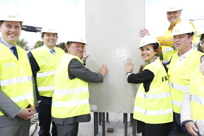 IKEA legt eerste steen voor nieuw woonwarenhuis in Hasselt