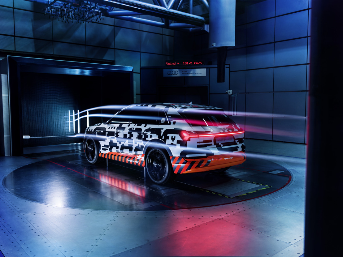 Streamline : le prototype Audi e-tron ultra aérodynamique
