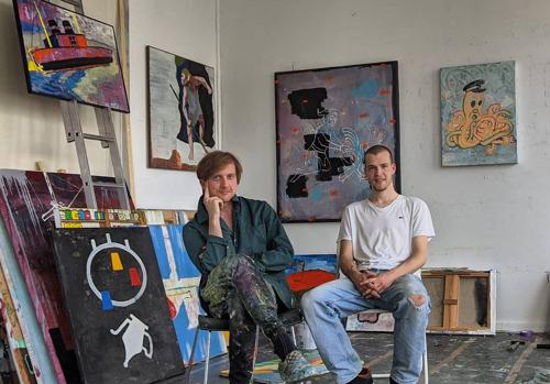 Barbé Urbain presenteert een solotentoonstelling van het kunstenaarsduo Flexboj & L.A.