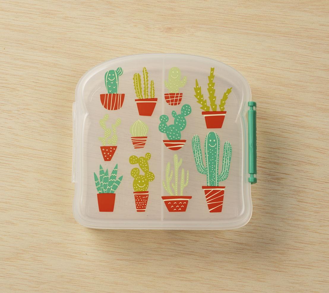 SugarBooger sandwich box Isla Happy Cactus - €9,95
