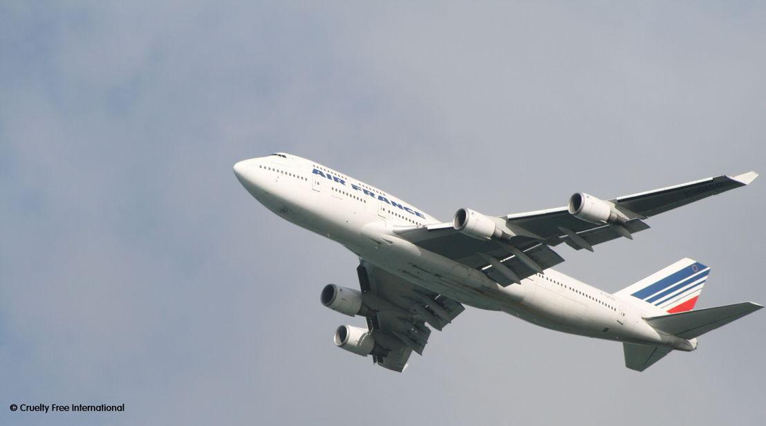 CFI copyright Air France leaving Mauritius
