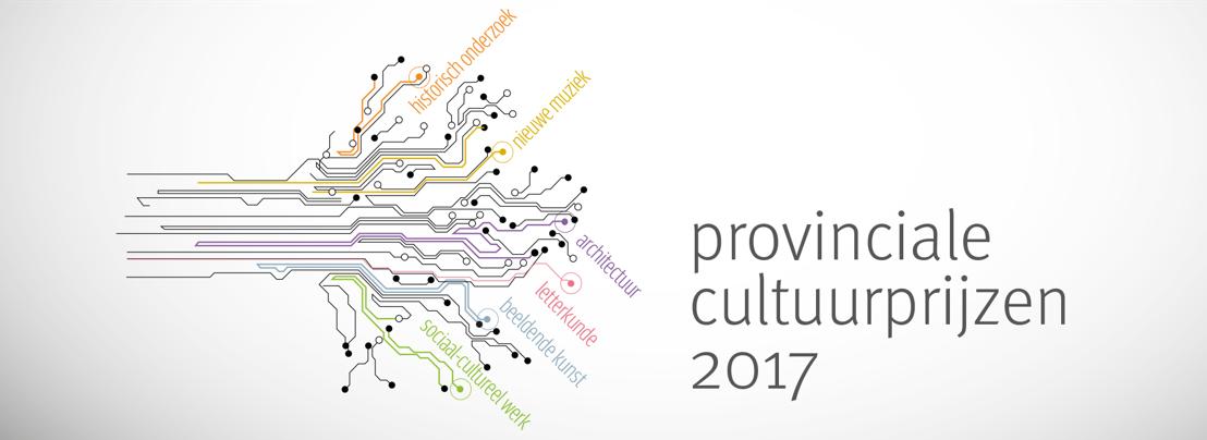 Provincie schrijft Cultuurprijzen uit ter waarde van 5 000 EUR elk