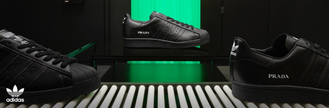 Prada y adidas Originals presentan el segundo lanzamiento de Prada Superstar