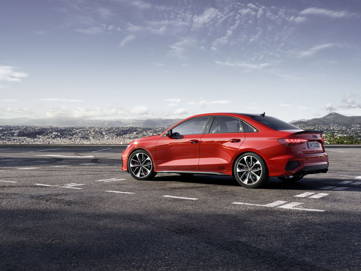 Audi S3 berline profil
