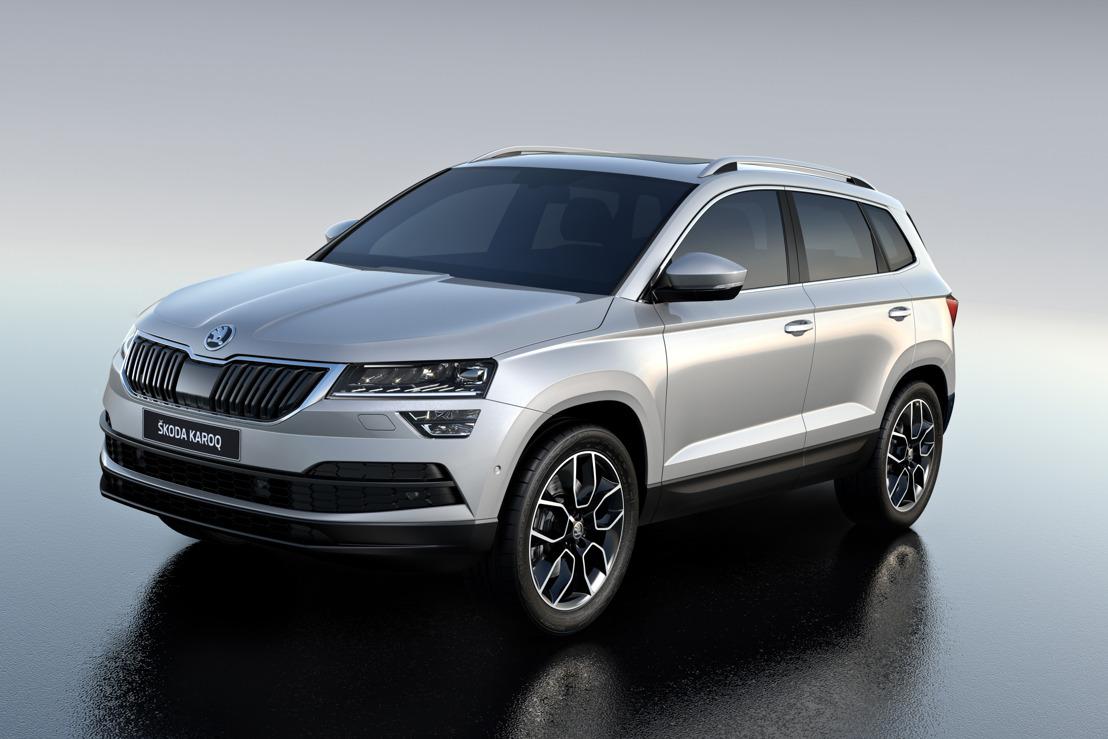 De ŠKODA KAROQ: Nieuwe compacte SUV met veel ruimte en ultramoderne technologie