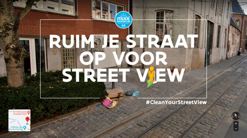 #CleanYourStreetView